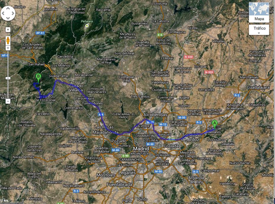 Mapa Peguerinos 1